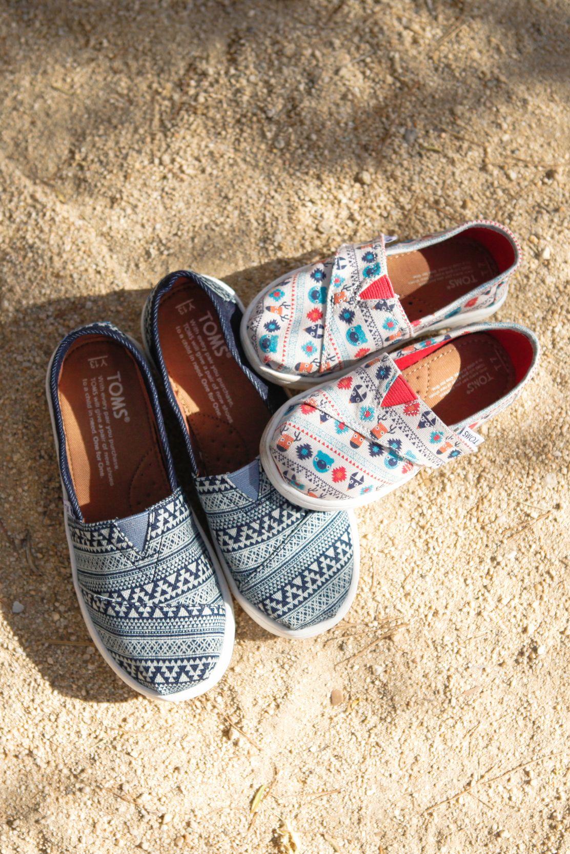 Toms shoes, Tiny toms