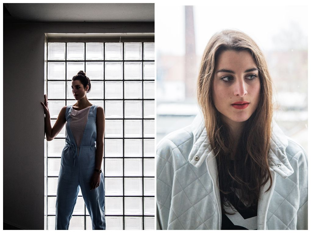 Support your local fashion designers: two outfits with Hamburg designer Ethel Vaughn up on the blog.