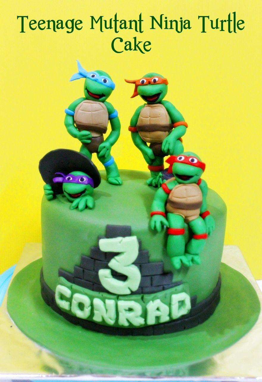 Teenage Mutant Ninja Turtle Cake Kue