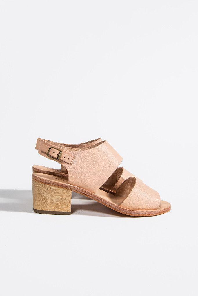 Tulip Block Heel Sandal by Rachel Comey // kickpleat