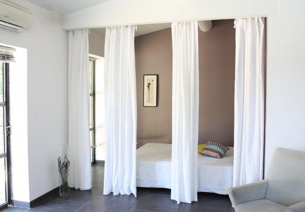 separation de piece deco avec rideaux en lin double mlc design le blog deco de