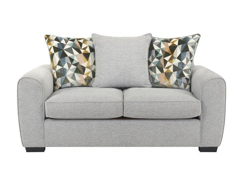 Inspire Ezra 2 Seater Sofa Scatter Back In 2020 2 Seater Sofa Sofa Bed Size Textured Carpet