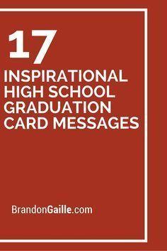 19 inspirational high school graduation card messages graduation 17 inspirational high school graduation card messages m4hsunfo