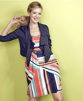 American Rag Plus Size Dress Sleeveless Printed Belted Onlymacys