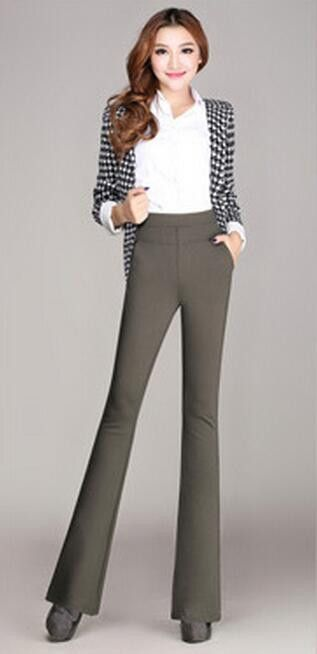 Red dress pants for plus size women