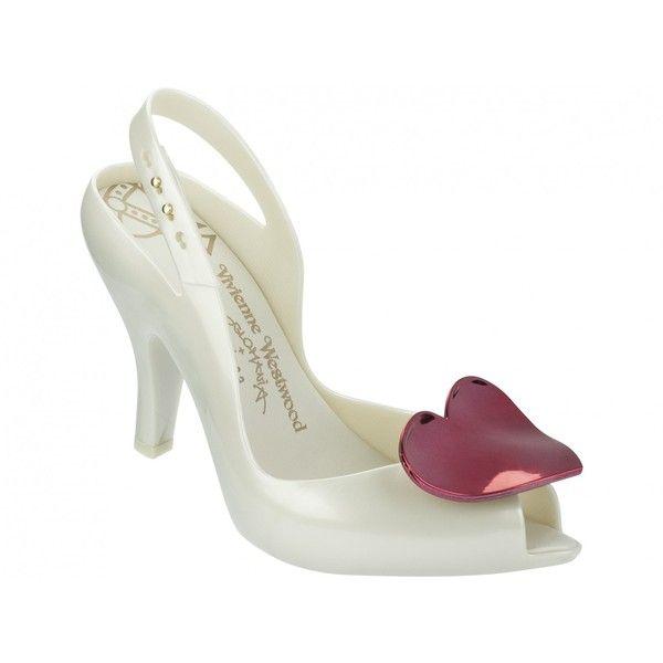 Vivienne Westwood + Melissa Shoes VW Lady Dragon Pearl