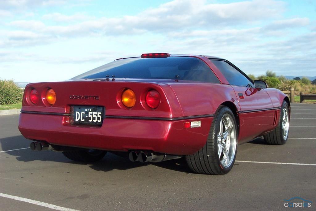 1989 Chevrolet Corvette C4 Chevrolet Corvette Corvette Corvette C4
