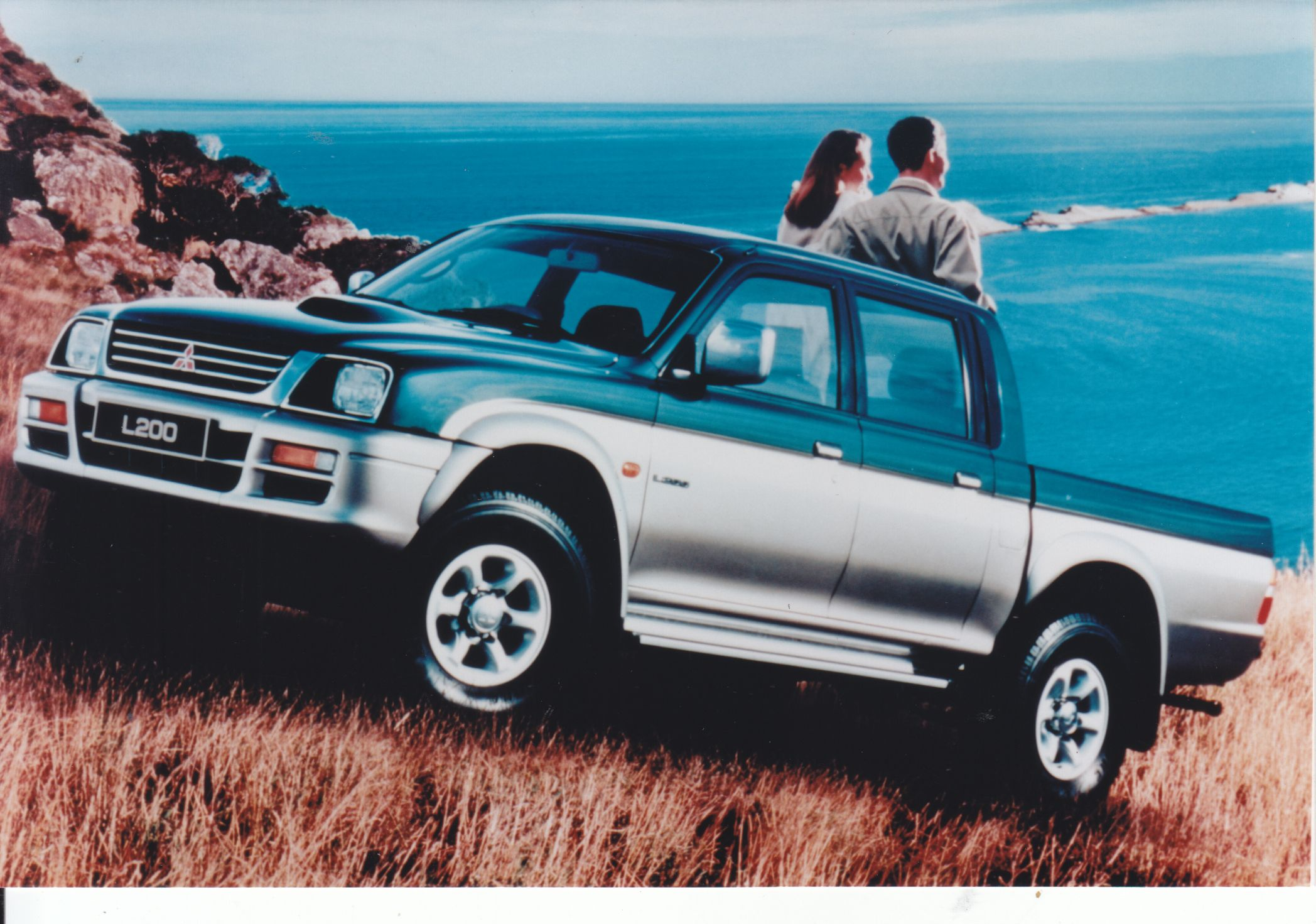 Mitsubishi L200 Pick Up Factory Issued Press Photo 1998 Mitsubishi Press Photo L200 Pick Up