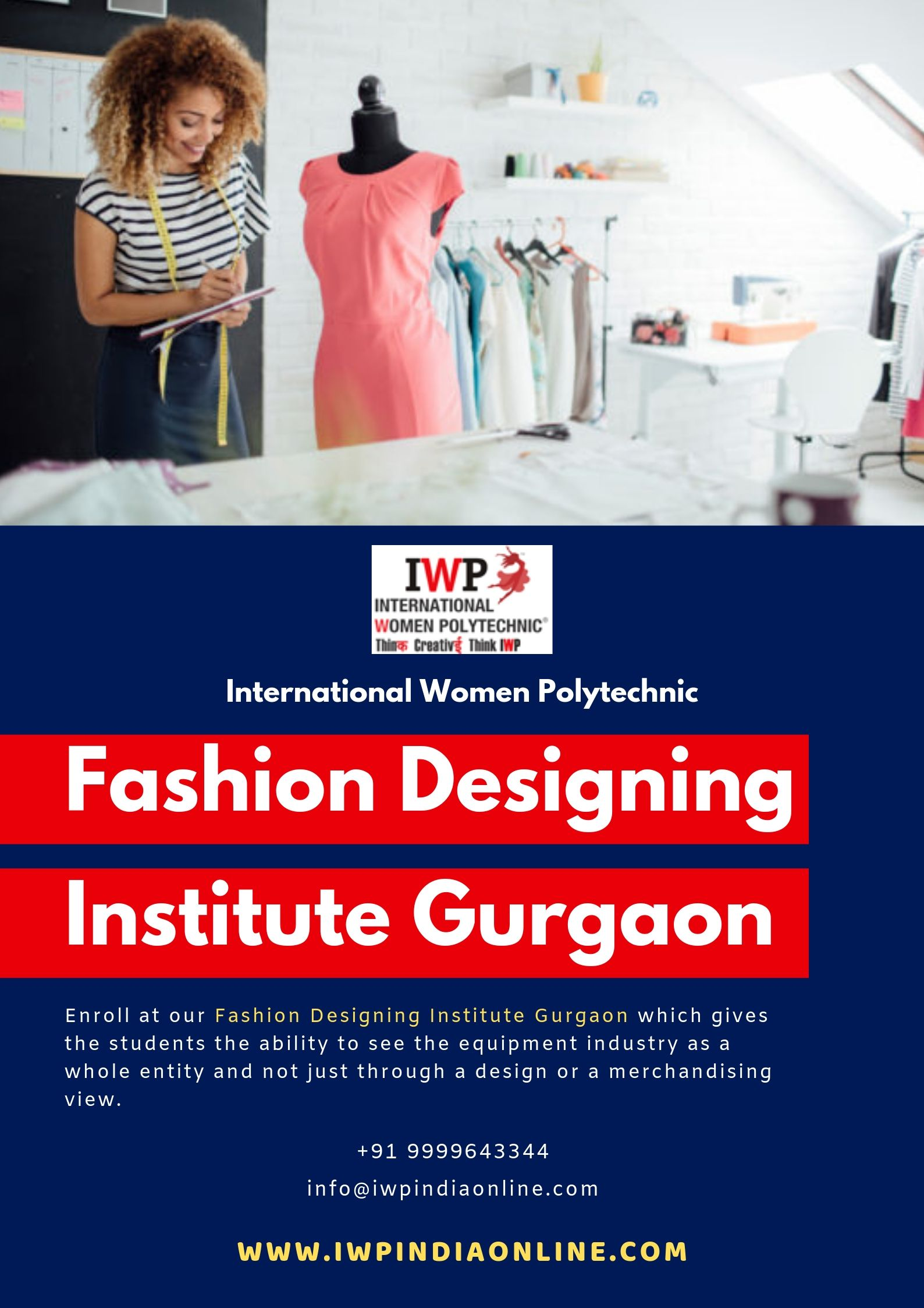 Want To Join Iwp But Have No Idea Where To Go Visit Our Fashion Designing Institute Gu Fashion Designing Institute Fashion Designing Colleges Fashion Design