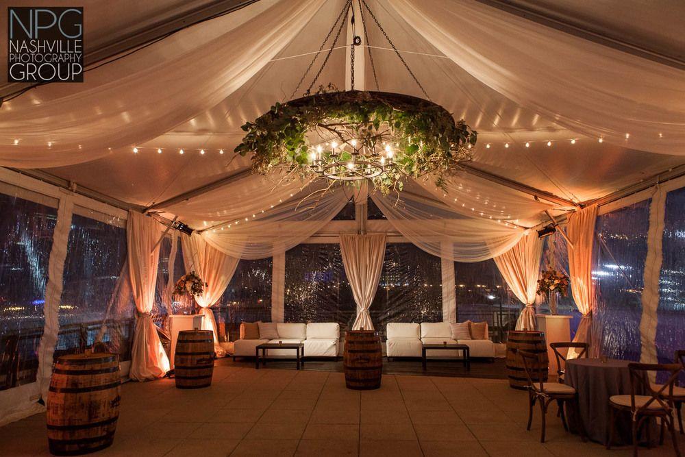 Bridge Building wedding Tinsel & Derek Nashville