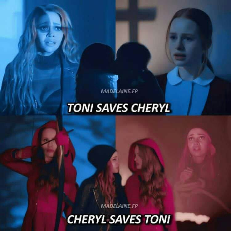 Boy When Toni Saved Cheryl From The Sisters Riverdale Cheryl Riverdale Cast Cheryl Blossom Riverdale