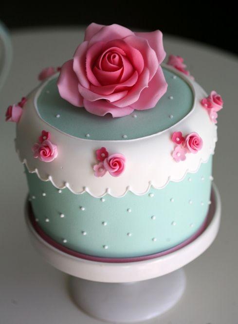 Birthday celebration cake.