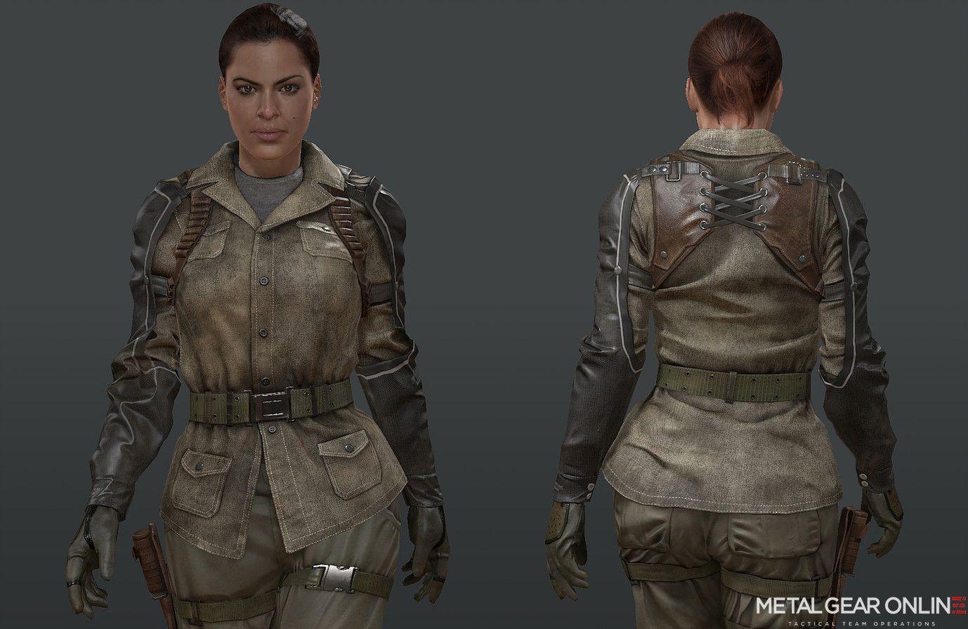 ArtStation - Parasite Soldier / Female Scout, Abraham Valdez
