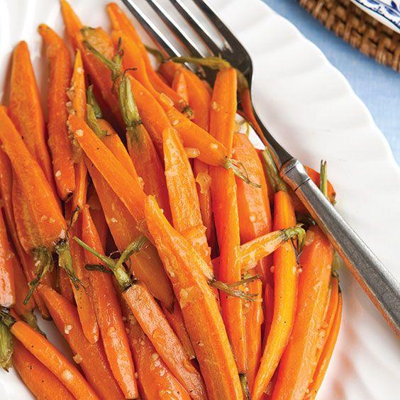 Orange-Glazed Roasted Carrots - Paula Deen Magazine