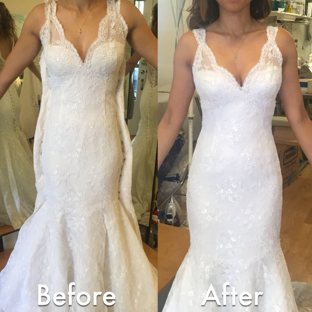 Wedding Dress Alterations Before And After in 2020