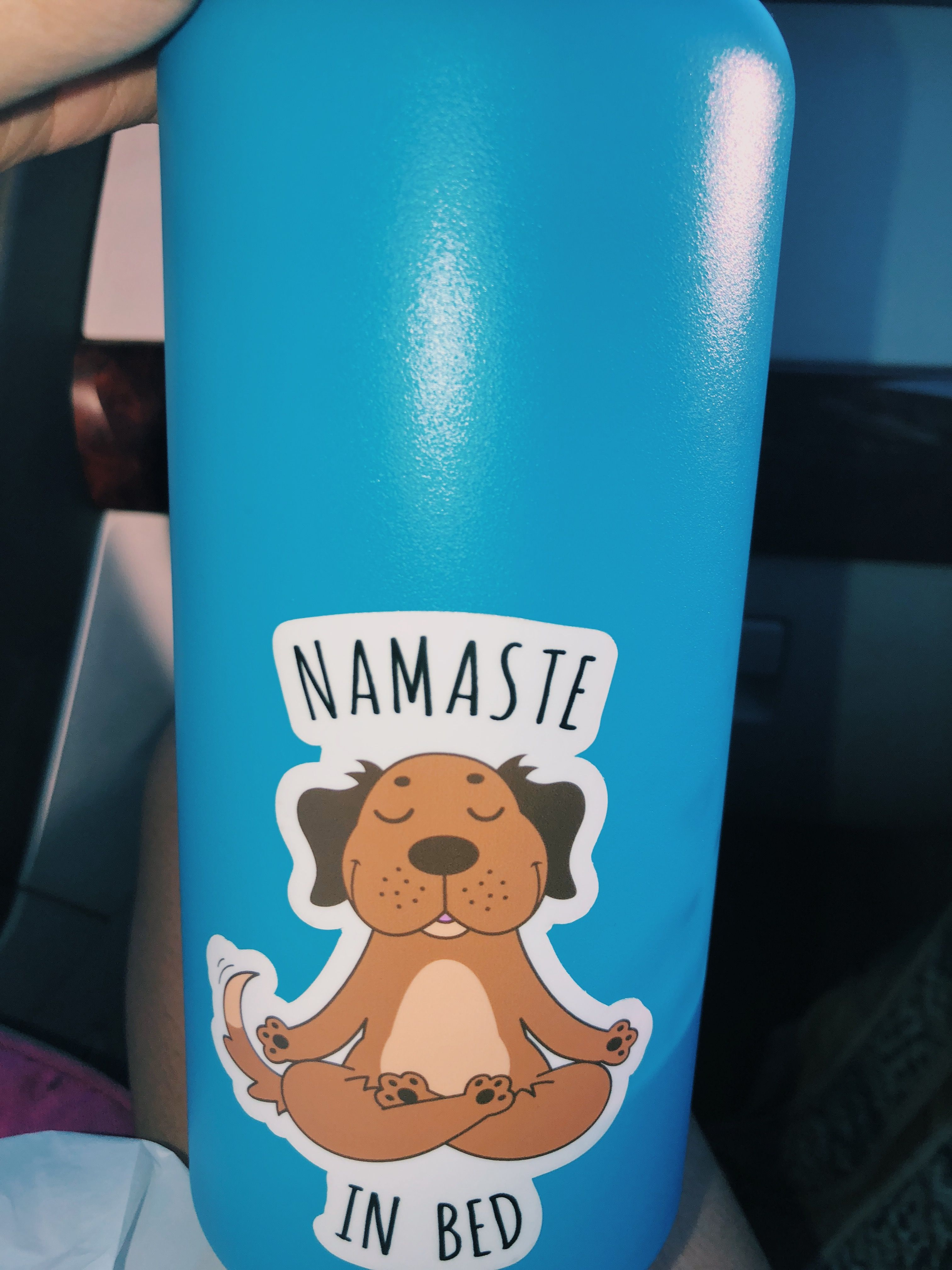 Hydro Flask Stickers Blue Aesthetic