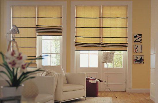 Tipi di tenda a finestra cerca con google creazioni house stairs roman shades e curtains - Finestra a bovindo ...
