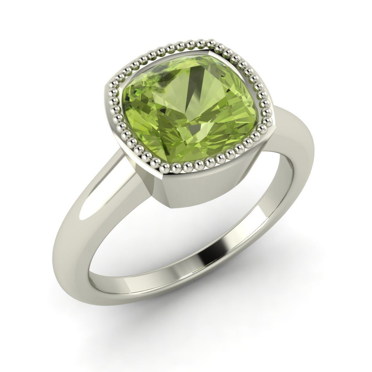 white engagement ring gold rings piaget in diamond peridot jewelry