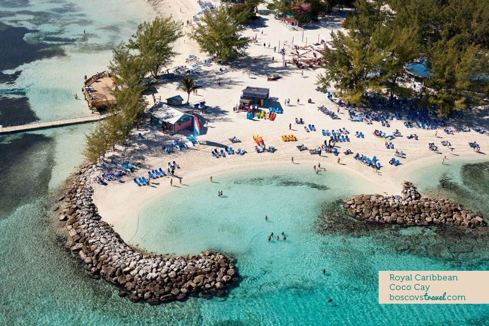 Coco Cay, Bud Light Port Paradise Cruise. LOVED This Spot. Swam Right There  In The Little Alcove On This Private Island While Drinking Free Bud Lt. And  ...
