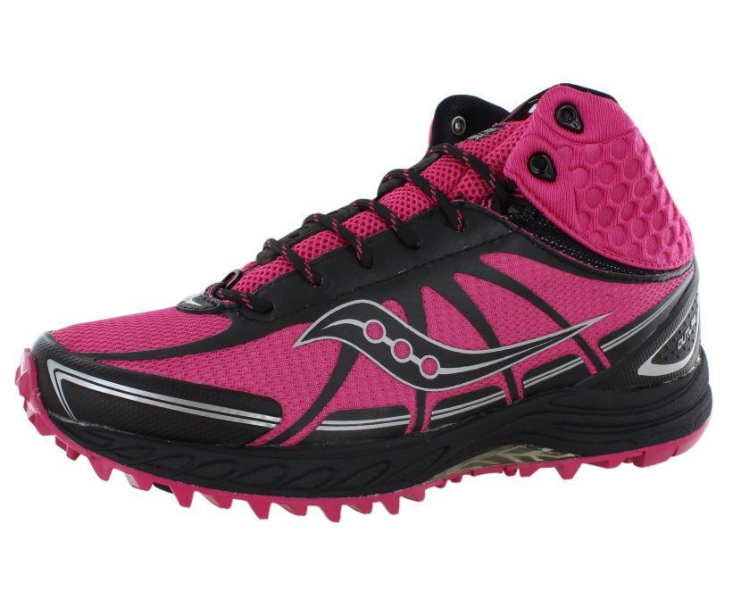 Saucony ProGrid Outlaw Womens Trail Run Shoes   Chain