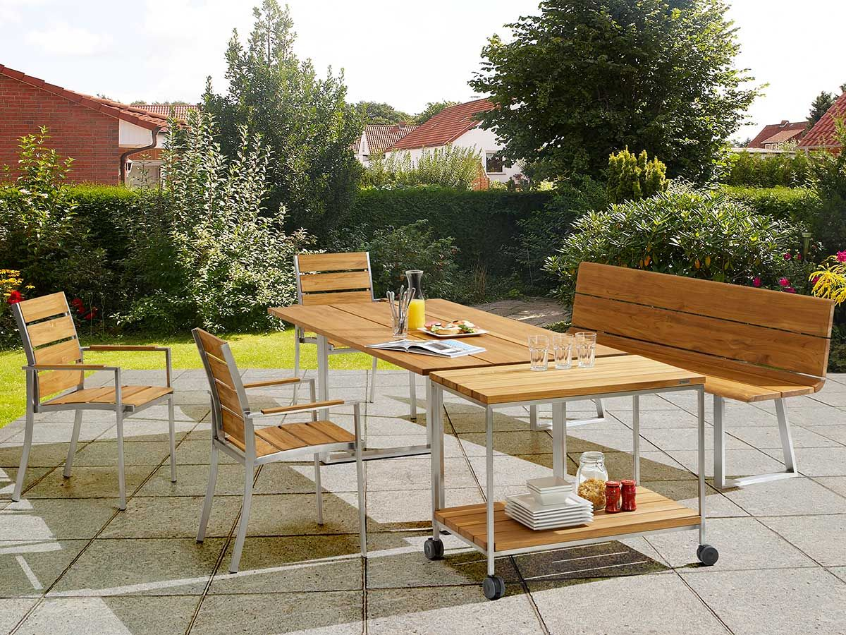niehoff gartenm bel set noah teak niehoff garden m bel. Black Bedroom Furniture Sets. Home Design Ideas