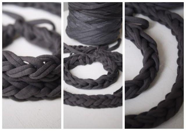 DIY: Jersey bracelet