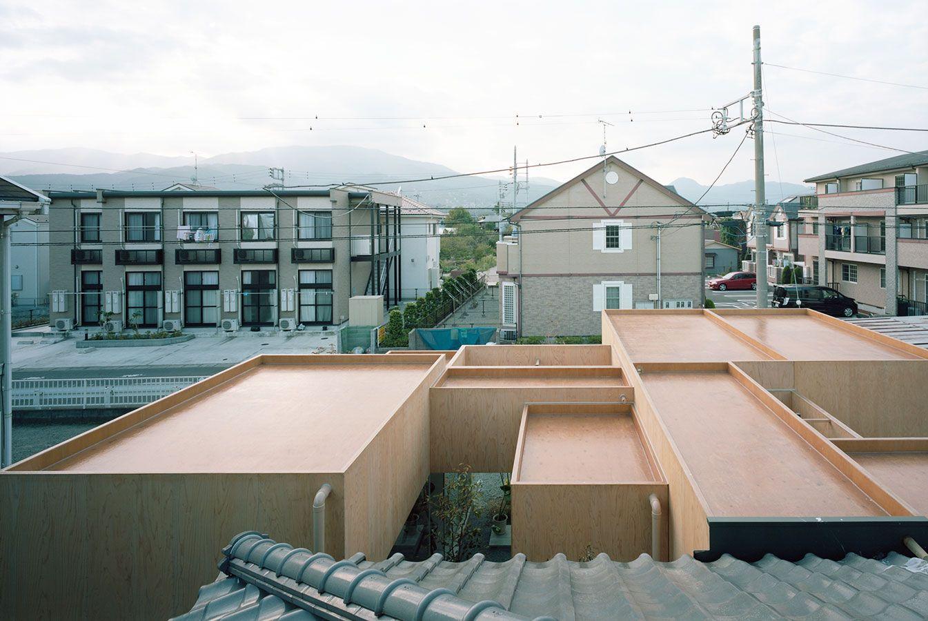 Innenarchitektur von schlafzimmermöbeln the cleanest roof i ever saw hiroyuki shinozaki architects  篠崎
