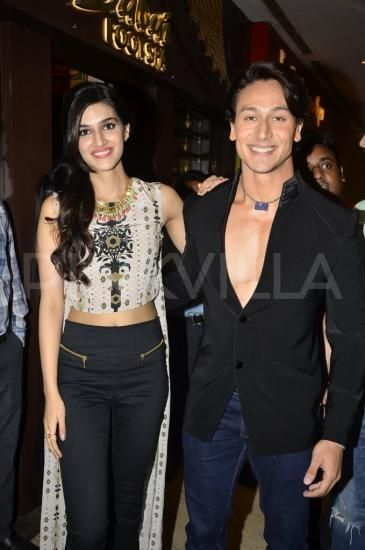 Tiger and Kriti live it up!