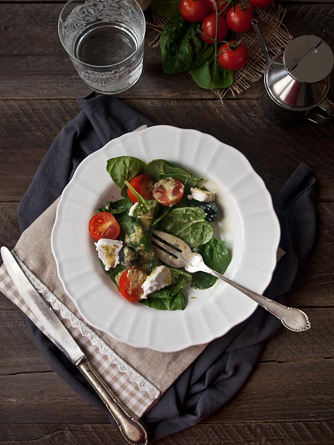 Una deliciosa versión de la famosa ensalada italiana ENSALADA CAPRESE