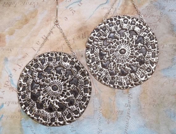The BEST Boho Jewelry, Modern Hippie Bohemian Fashion Trends by HappyGoLicky | Boho Statement Earrings $89.00 in Sterling Silver | Coupon Code PIN10 saves you 10% now- just CLICK!