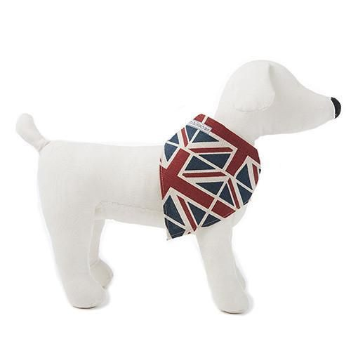 Luxury Union Jack Linen Neckerchief Mutts And Hounds Royal