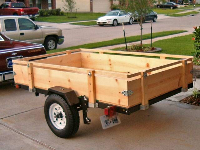 Folding Utility Trailers Trailer Kits Parts And