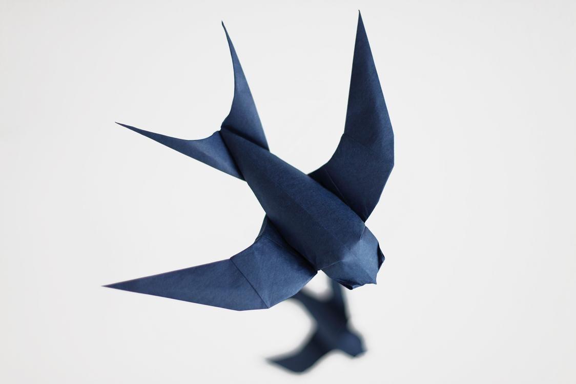 Swallow Origami Google Search Swift Pinterest Video Diagram Quotswan Quyetquot