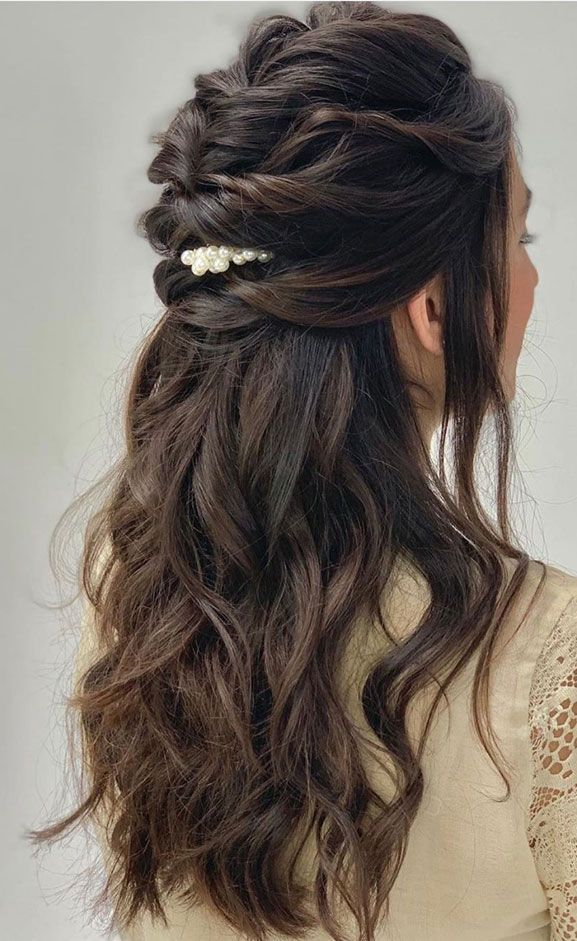 Best Half Up Half Down Hairstyles For Everyday To Special Occasion -   16 hair Half Up Half Down homecoming ideas