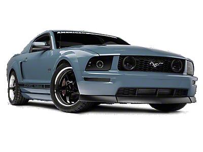 Axial Smoked Mustang Headlights W Ccfl Halo 49121 05 09 Gt V6 Free Shipping 2006 Ford Mustang Mustang Parts Ford Mustang