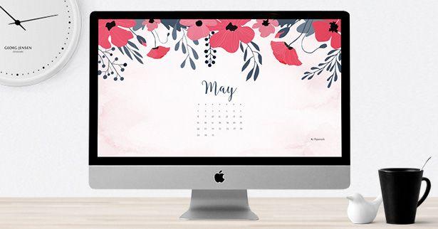 May 2016 Free Calendar Wallpaper Desktop Background Calendar Wallpaper Desktop Wallpaper Computer Screen Wallpaper