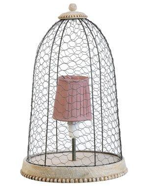 Lampe Cage De Jardin D Ulysse Cage Deco Recup Et Lampe A Poser