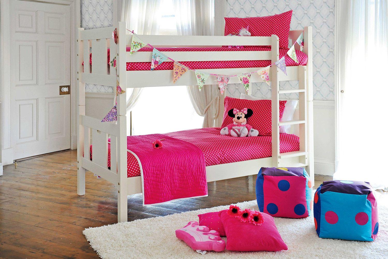 Wooden loft bed with slide  Emilyu Bunk Bed  Shop at Harvey Norman  Kids Room  Pinterest