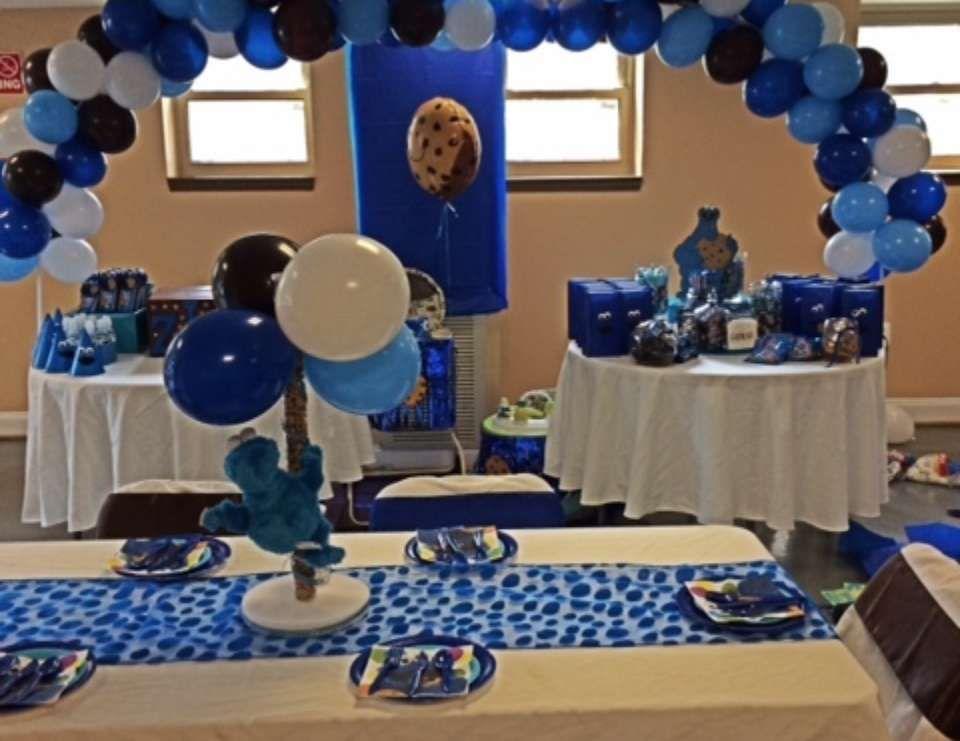 Cookie Monster Birthday Zions 1st