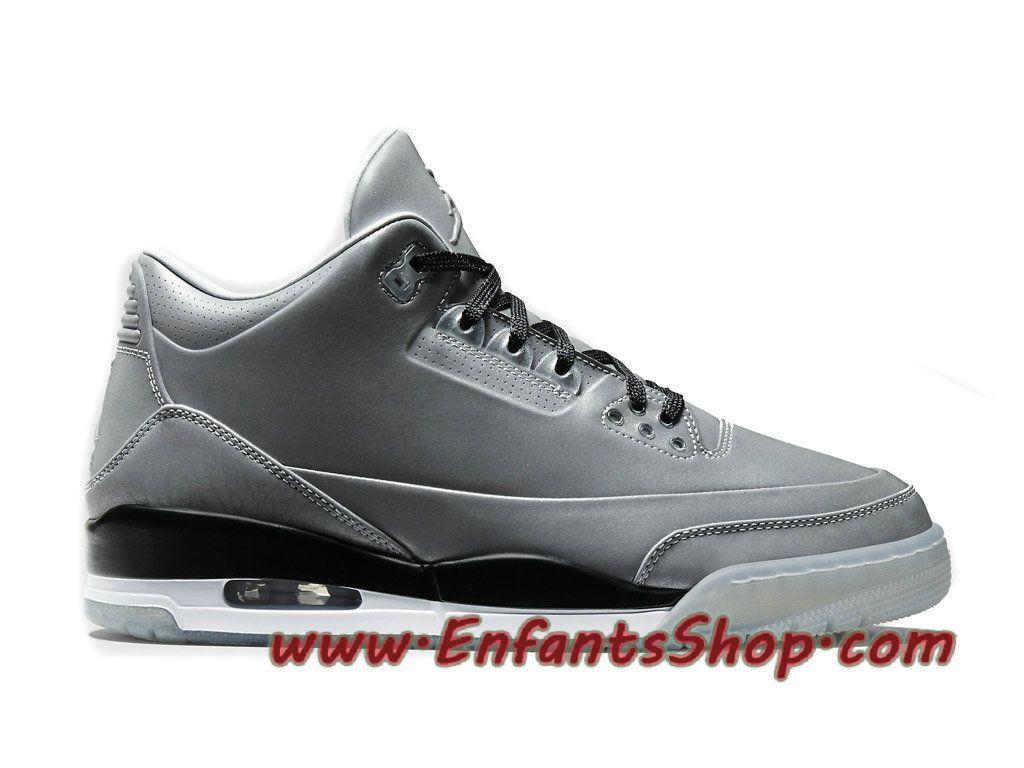 Air Jordan 5LAB3 Reflective Chaussures Jordan Basket Pas Cher Pour Homme  Silver 631603-003