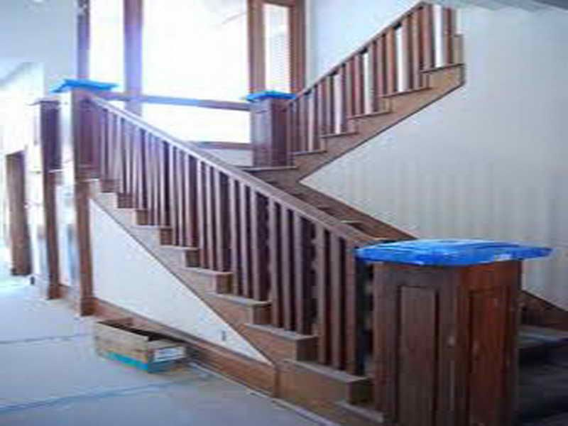 Step How To Install Stair Railing