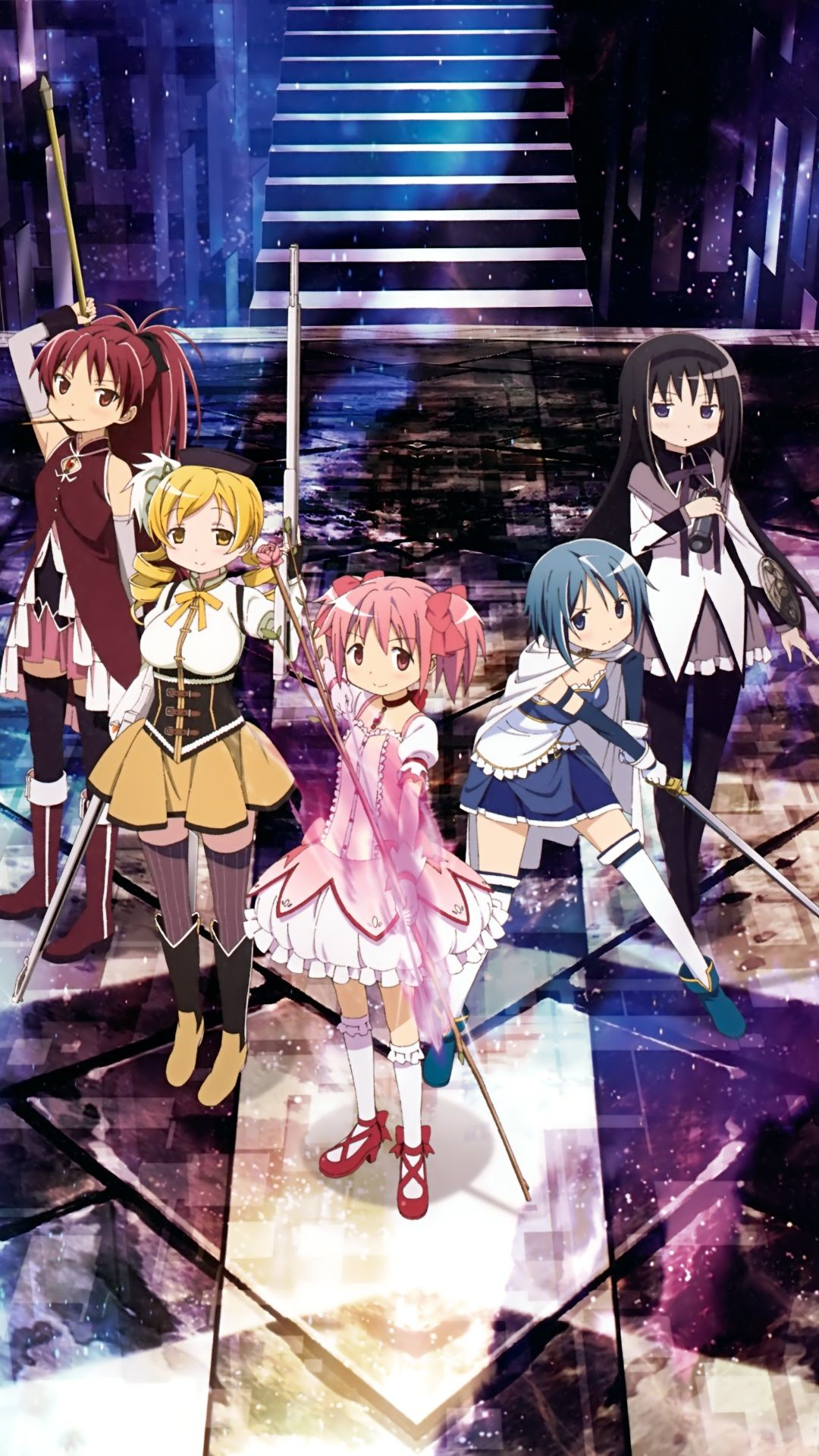 Mahou Shoujo Madoka Magica Android And Iphone6 Wallpapers