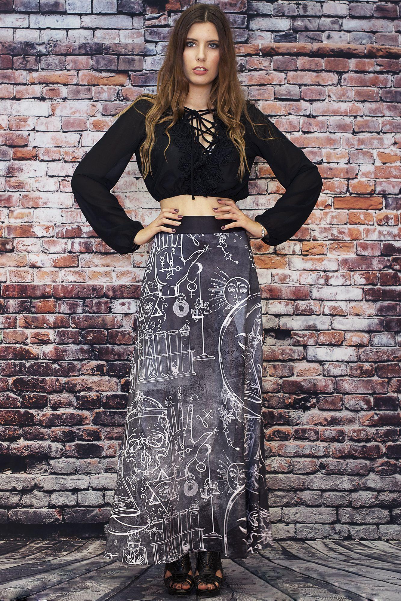 f9e67ddd61f14 Hocus Pocus Maxi Skirt - $90.00 AUD. Hocus Pocus Maxi Skirt - $90.00 AUD Living  Dead Clothing, Best Leggings ...