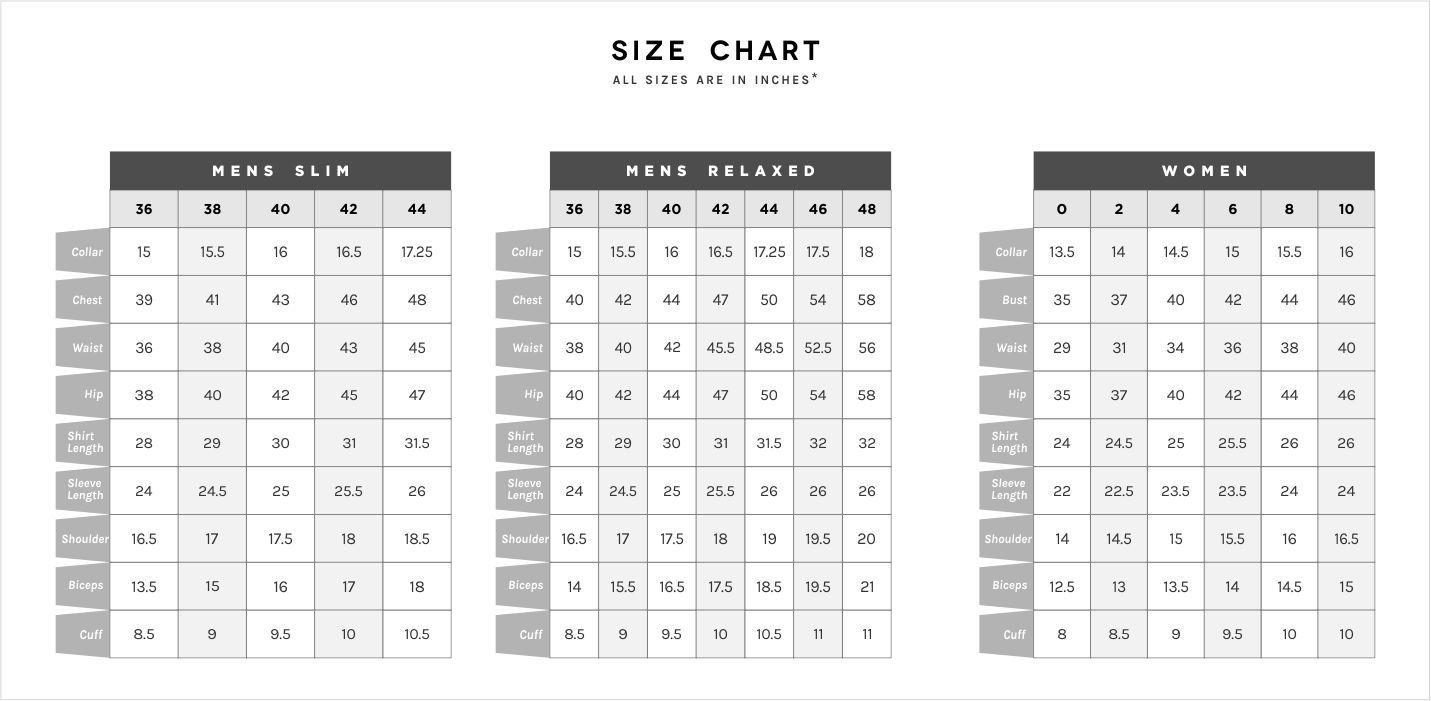 Mens Shirt Sizes Uk Chart Agbu Hye Geen Size Chart For Kids Shirt Size Size Chart