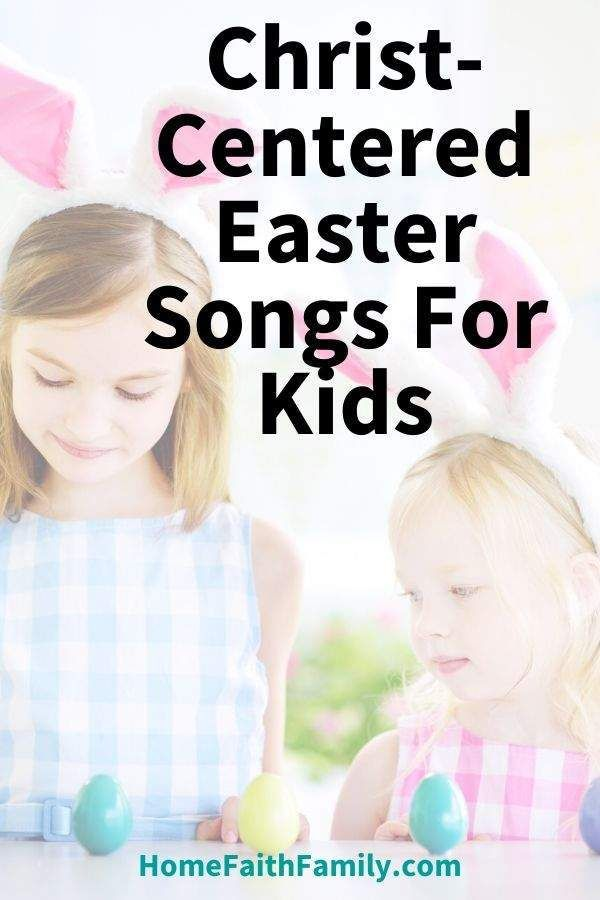 I love that many of these Easter songs focus on Jesus Christ with our kids. The bunny and egg songs are fun, too, but the Christian music is powerful! #easter #kidsmusic