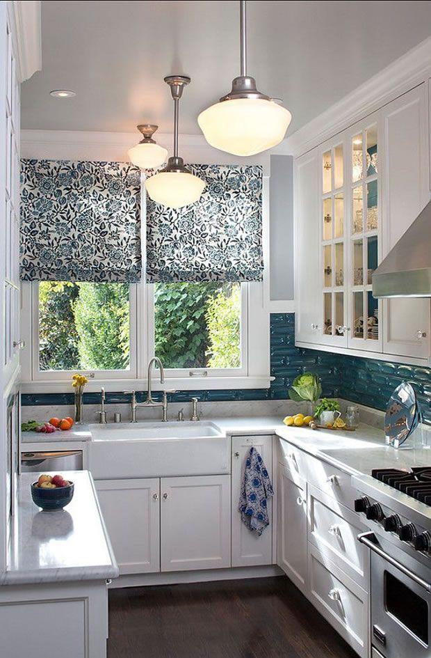 10 pequeñas cocinas con grandes ideas | Ideas para, Window and House