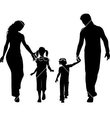 family silhouette vector c utare google template pinterest rh pinterest com au black family silhouette vector family silhouette vector free
