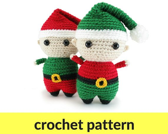 Free Christmas and Holiday Crochet Patterns • Spin a Yarn Crochet | 453x570