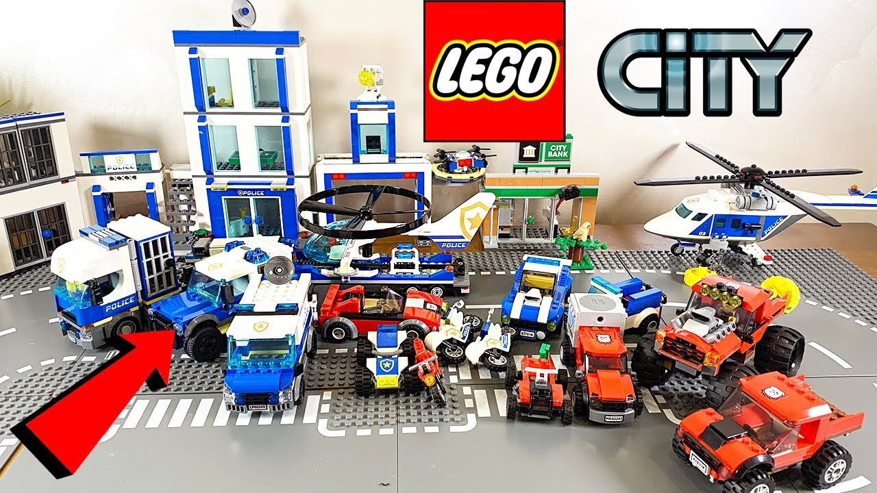 All Lego City Police Vehicle 2020 Collection Lego City Police Lego City Lego