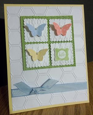 Hello (FS319) by ~CA~ - Cards and Paper Crafts at Splitcoaststampers